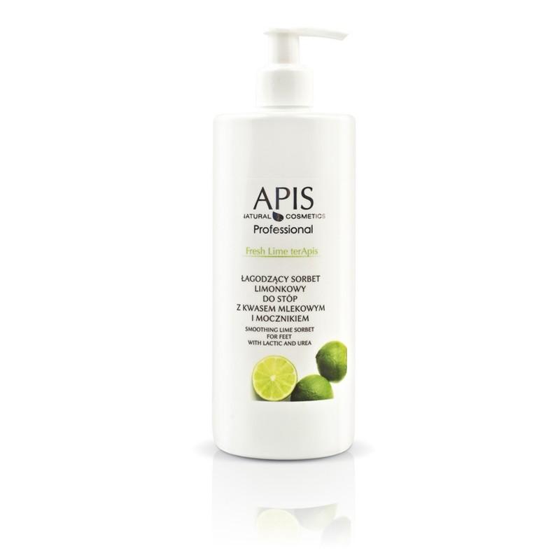 APIS Limetkový sorbet na nohy s kyselinou mliečnou a močovinou 500ml