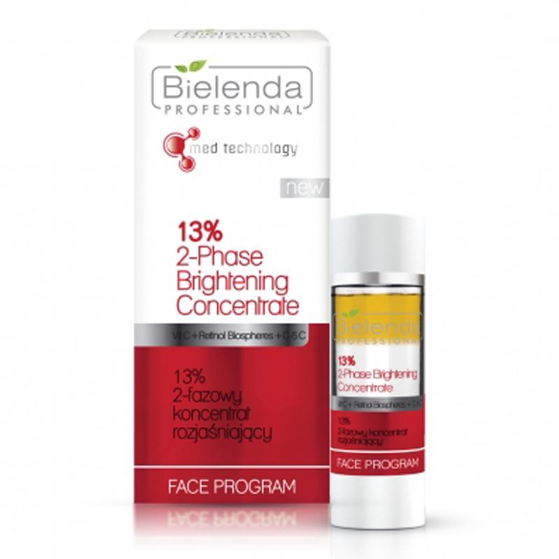 BIELENDA 13% 2-fázový rozjasňujúci koncentrát 15 ml