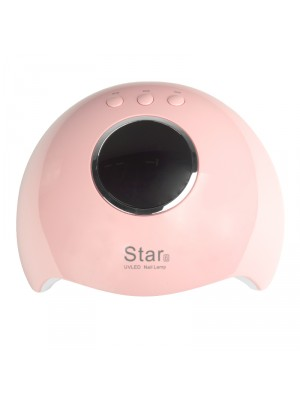 LAMPA NA NECHTY UV LED STAR 6 24W PINK 3