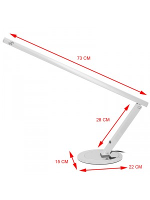 STOLNÁ LAMPA SLIM 20W ALUMINIUM ALL4LIGHT 2