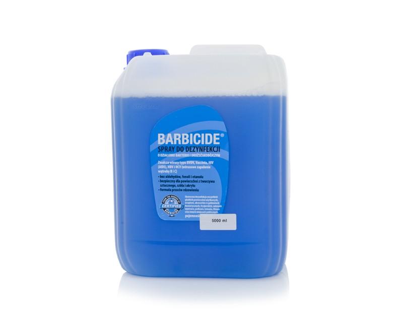 BARBICIDE Dezinfekčný sprej na všetky typy povrchov bez zápachu - náplň 5l