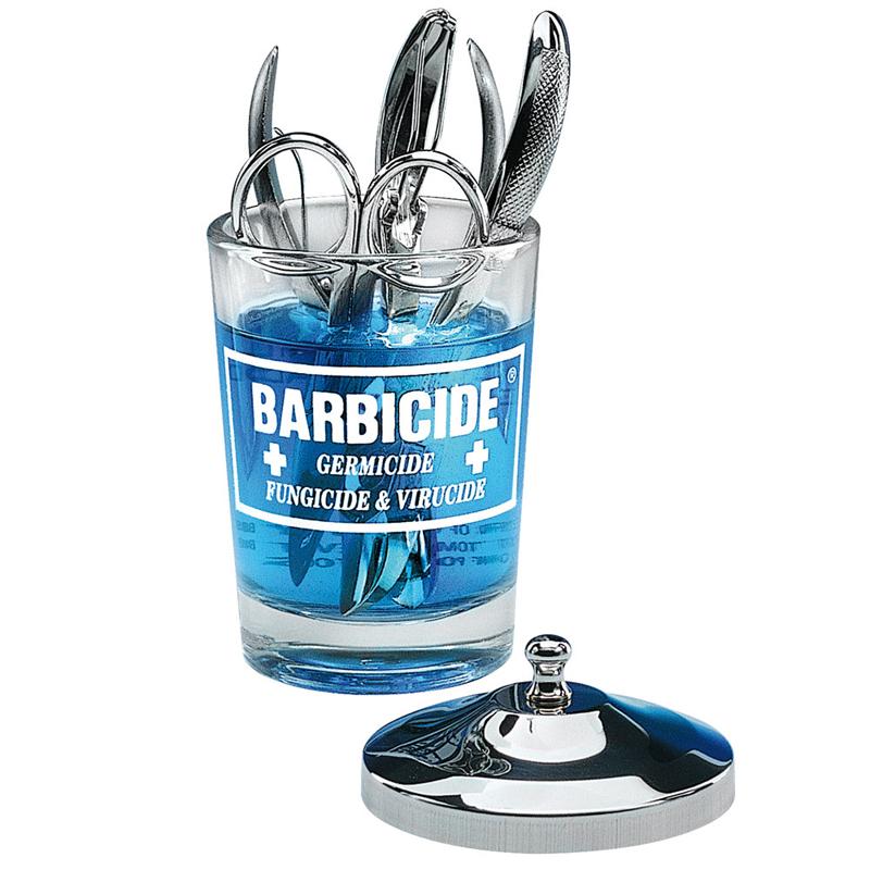 BARBICIDE Sklenená nádoba na dezinfekciu 120ml