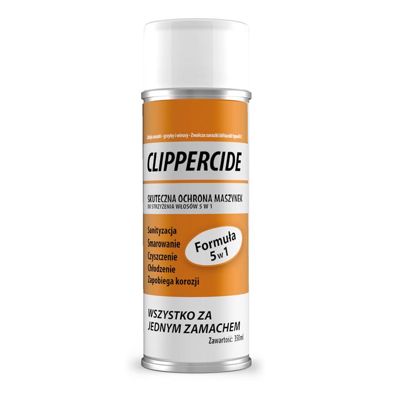 BARBICIDE CLIPPERCIDE Sprej na dezinfekciu a mazania strojčekov na strihanie vlasov 350g