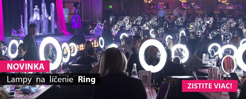 Lampy na líčenie Ring