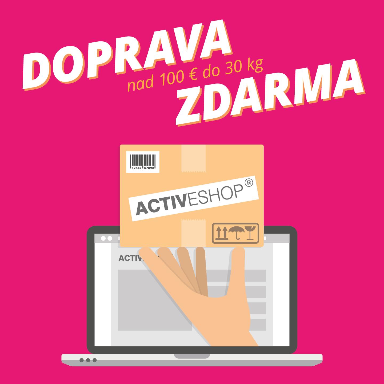 Doprava zdarma v Activeshop Slovensko